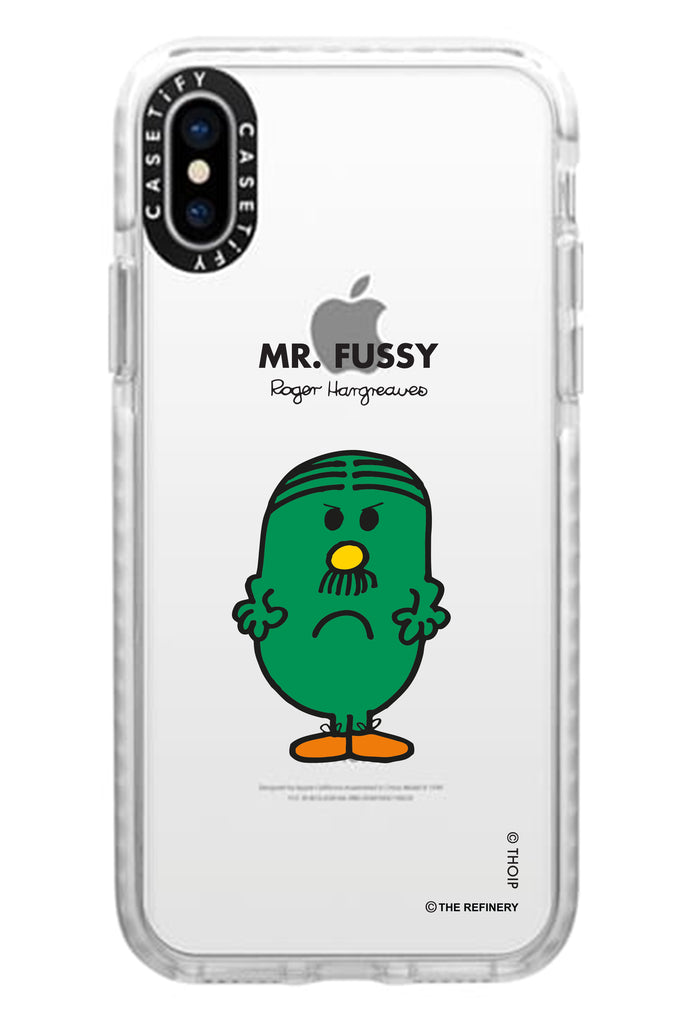 MR. FUSSY PERSONALISED IMPACT PHONE CASE BY CASETIFY