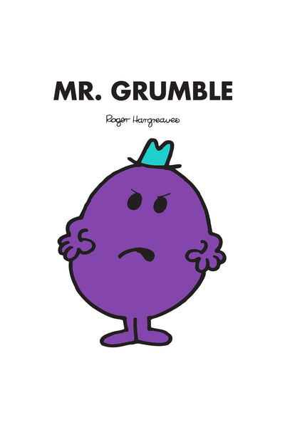 MR. GRUMBLE PERSONALISED ART PRINT