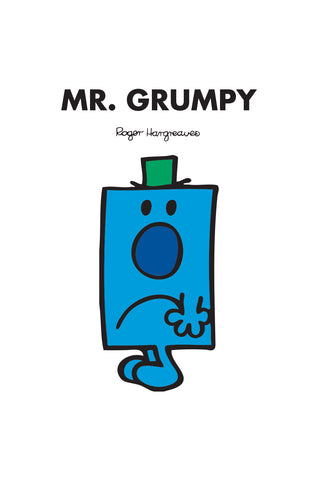 MR. GRUMPY PERSONALISED ART PRINT