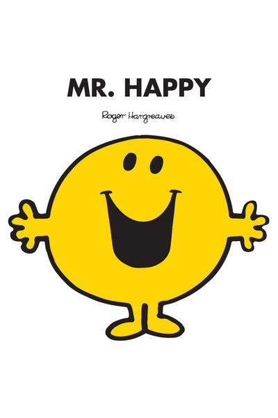 MR. HAPPY PERSONALISED ART PRINT