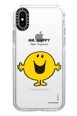 MR. HAPPY PERSONALISED IMPACT PHONE CASE BY CASETIFY