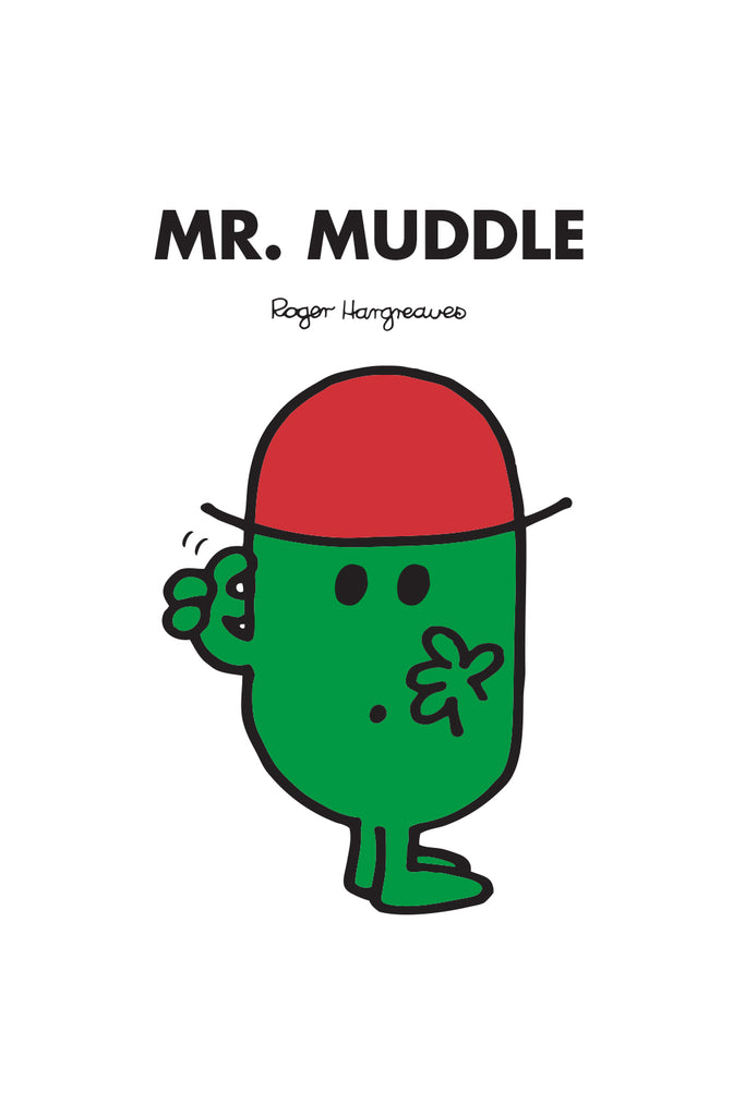 MR. MUDDLE PERSONALISED ART PRINT