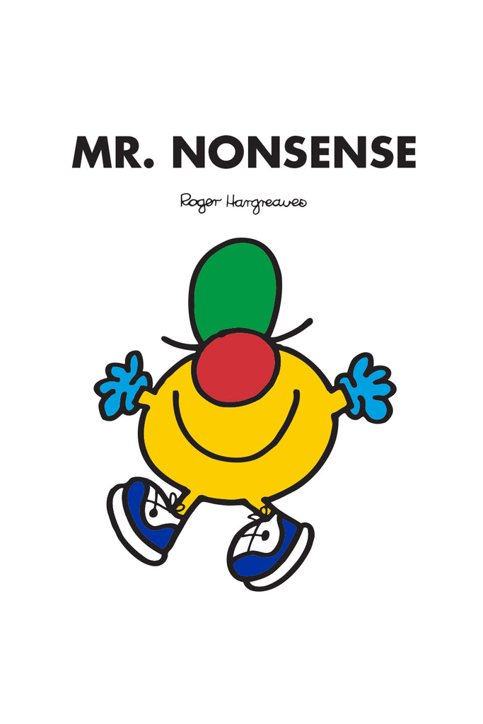 MR. NONSENSE PERSONALISED ART PRINT