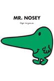 MR. NOSEY PERSONALISED ART PRINT