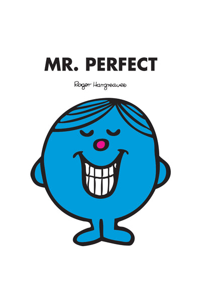 MR. PERFECT PERSONALISED ART PRINT