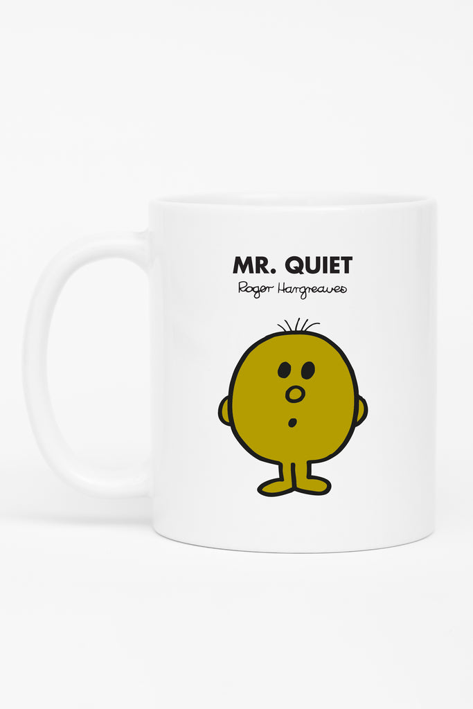 MR. QUIET PERSONALISED MUG