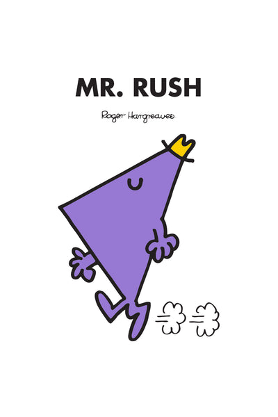 MR. RUSH PERSONALISED ART PRINT
