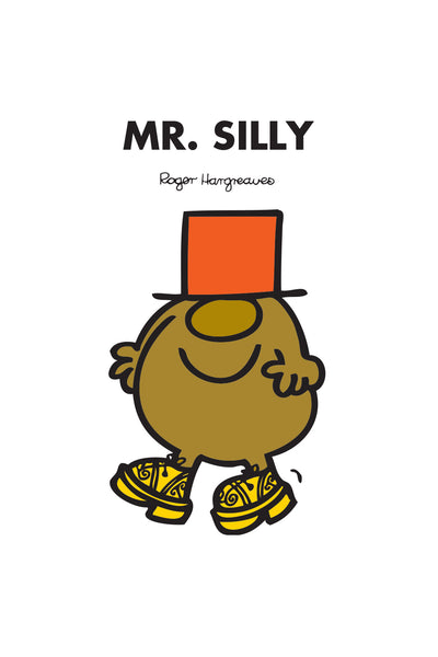 MR. SILLY PERSONALISED ART PRINT
