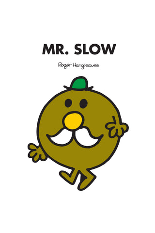 MR. SLOW PERSONALISED ART PRINT