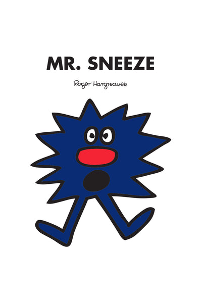 MR. SNEEZE PERSONALISED ART PRINT