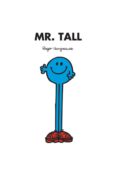 MR. TALL PERSONALISED ART PRINT