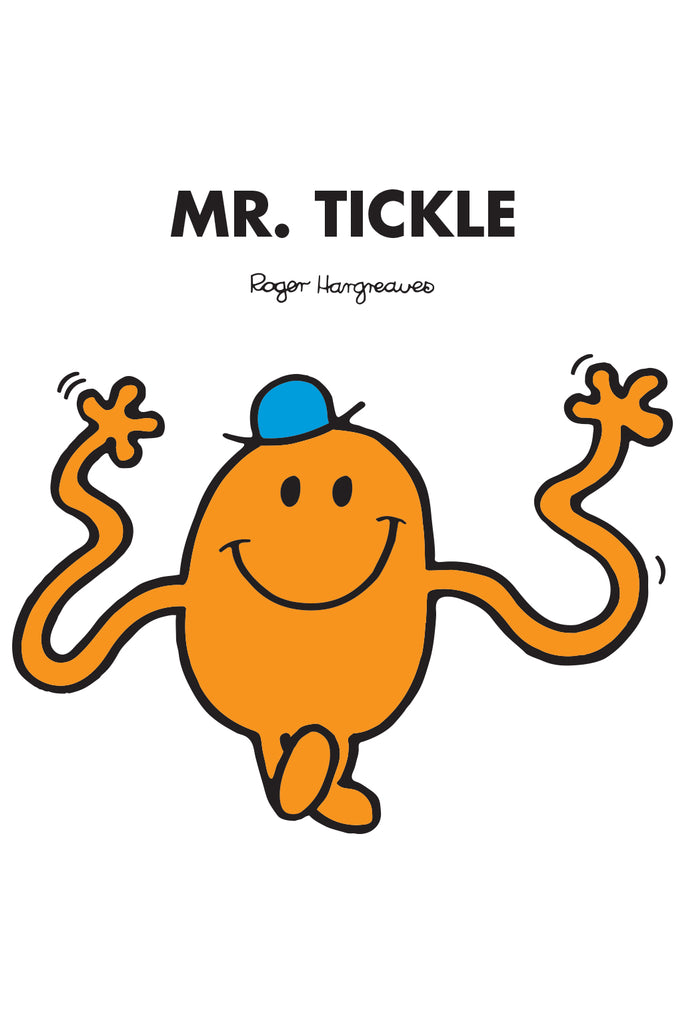 MR. TICKLE PERSONALISED ART PRINT