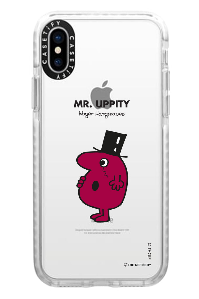 MR. UPPITY PERSONALISED IMPACT PHONE CASE BY CASETIFY