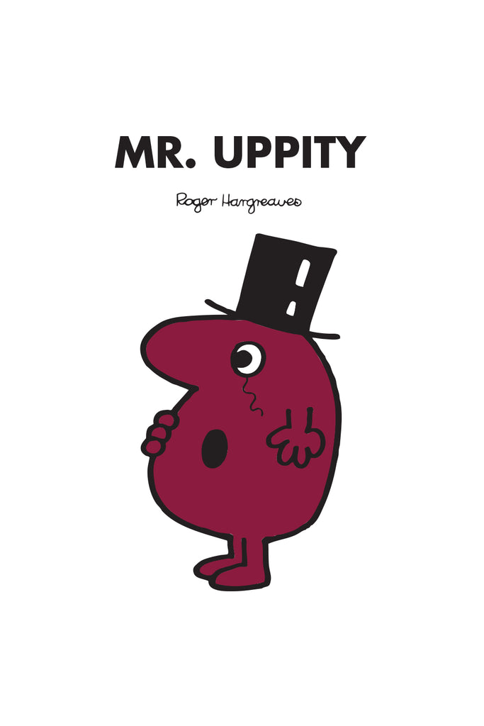 MR. UPPITY PERSONALISED ART PRINT