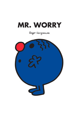 MR. WORRY PERSONALISED ART PRINT