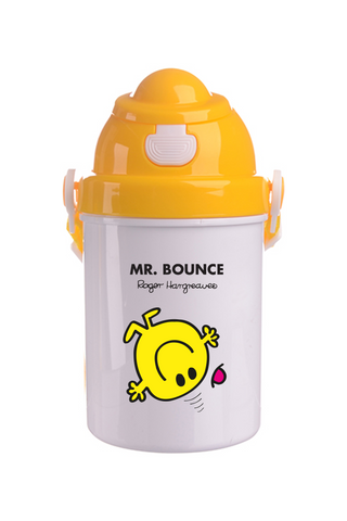 MR. BOUNCE PERSONALISED CHILDRENS WATER FLASK