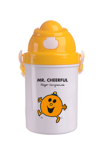 MR. CHEERFUL PERSONALISED CHILDRENS WATER FLASK