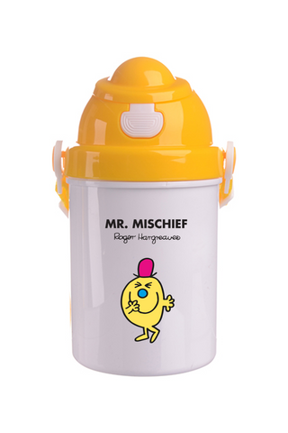 MR. MISCHIEF PERSONALISED CHILDRENS WATER FLASK