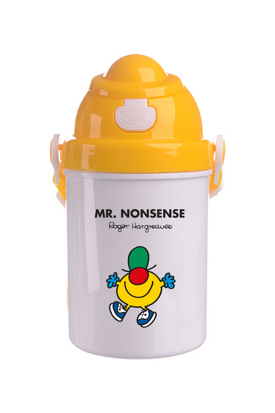 MR. NONSENSE PERSONALISED CHILDRENS WATER FLASK