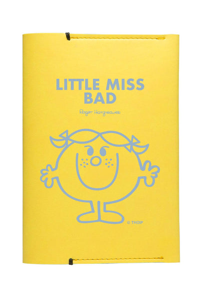 LITTLE MISS BAD PERSONALISED PASSPORT HOLDER