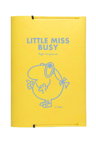 LITTLE MISS BUSY PERSONALISED PASSPORT HOLDER