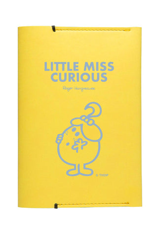 LITTLE MISS CURIOUS  PERSONALISED PASSPORT HOLDER