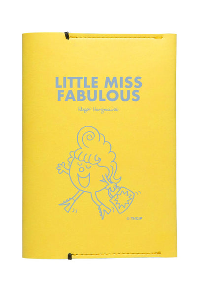 LITTLE MISS FABULOUS  PERSONALISED PASSPORT HOLDER