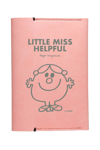 LITTLE MISS HELPFUL PERSONALISED PASSPORT HOLDER