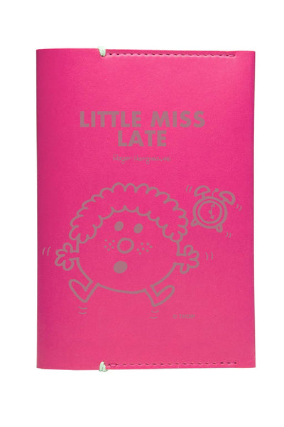 LITTLE MISS LATE PERSONALISED PASSPORT HOLDER