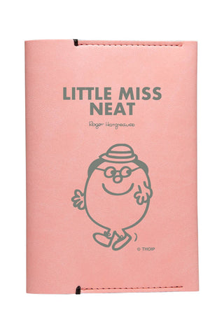 LITTLE MISS NEAT PERSONALISED PASSPORT HOLDER