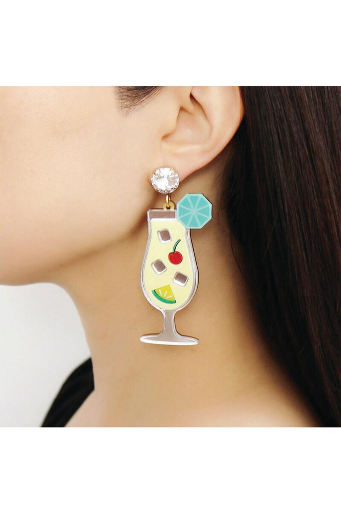 PINA COLADA EARRINGS