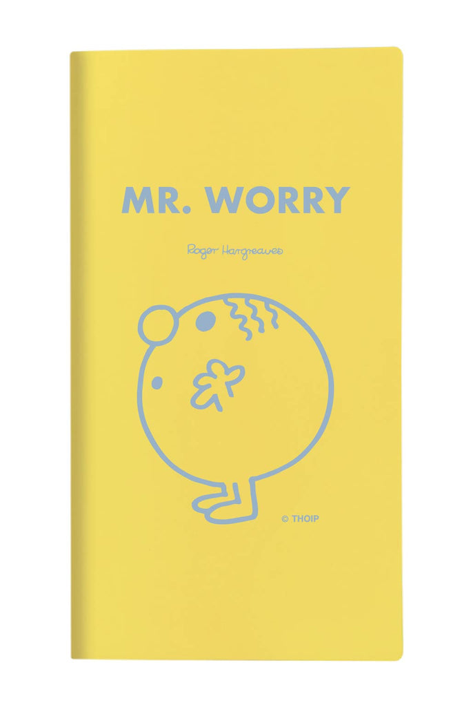 MR WORRY PERONALISED POCKET DIARY