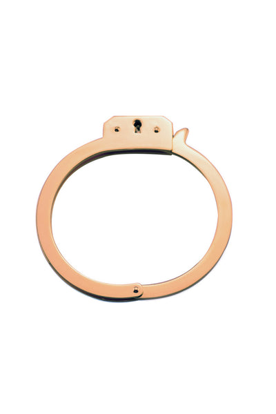 ROSE GOLD HANDCUFF BANGLE