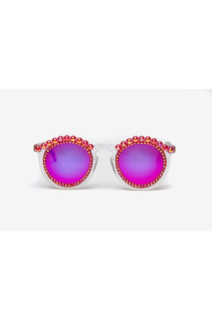 FIRE PINK SUNGLASSES