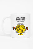 LITTLE MISS SUNSHINE WEDDING PERSONALISED MUG
