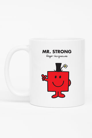 MR. STRONG WEDDING PERSONALISED MUG