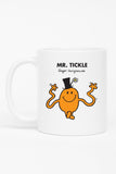MR. TICKLE WEDDING PERSONALISED MUG