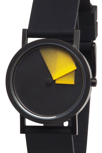 Yellow Dèjà Vu Watch
