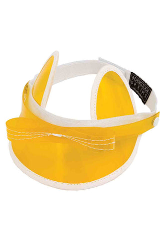 YELLOW CAT VISOR