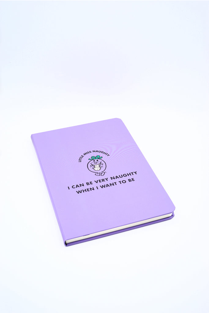 LITTLE MISS NAUGHTY NOTEBOOK