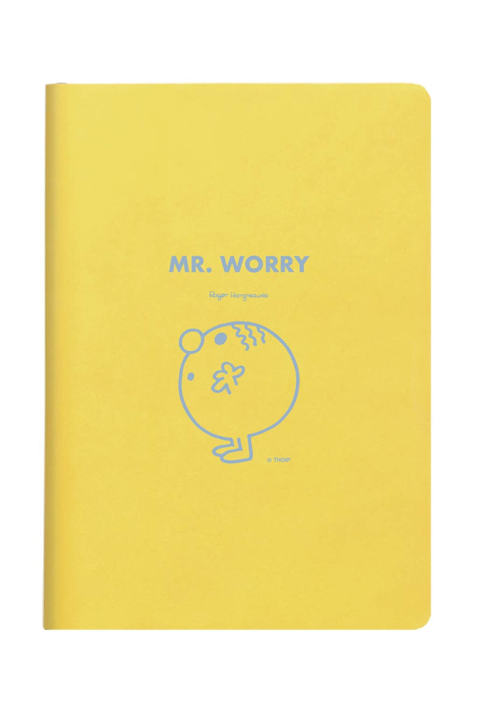 MR WORRY PERSONALISED A4 FOLDER