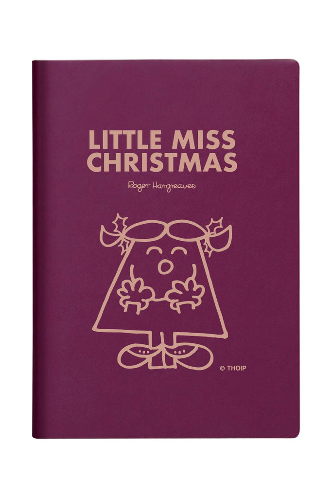 LITTLE MISS CHRISTMAS PERSONALISED A5 DIARY
