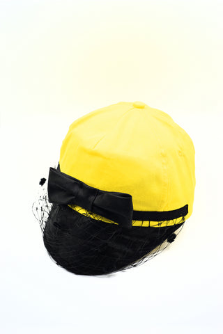 YELLOW VEIL CAP
