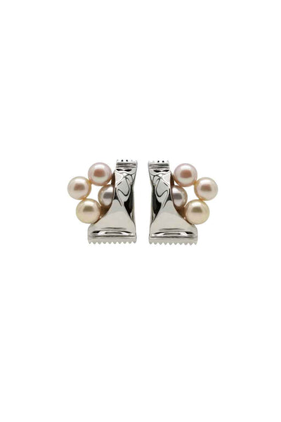FRESHWATER PEARL SWEETS SILVER EARRINGS