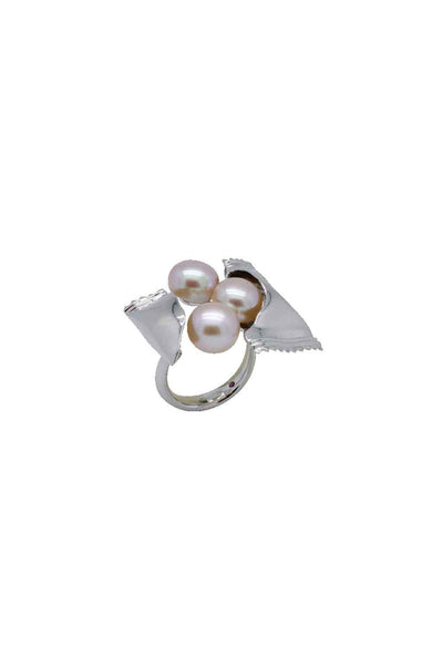 FRESHWATER PEARL SWEETS SILVER RING