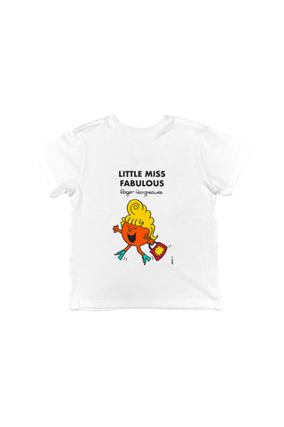 LITTLE MISS FABULOUS PERSONALISED CHILDREN'S T-SHIRT