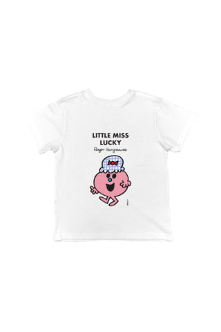 LITTLE MISS LUCKY PERSONALISED CHILDREN'S T-SHIRTS