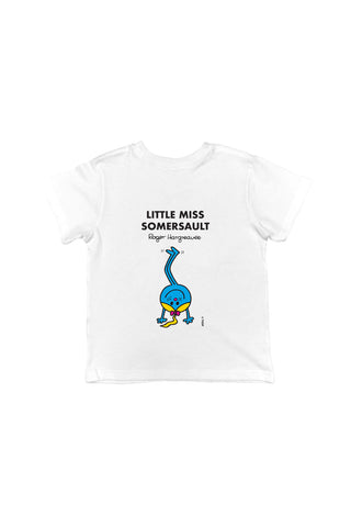 LITTLE MISS SOMERSAULT PERSONALISED CHILDREN'S T-SHIRTS