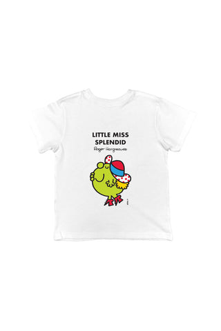 LITTLE MISS SPLENDID PERSONALISED CHILDREN'S T-SHIRT