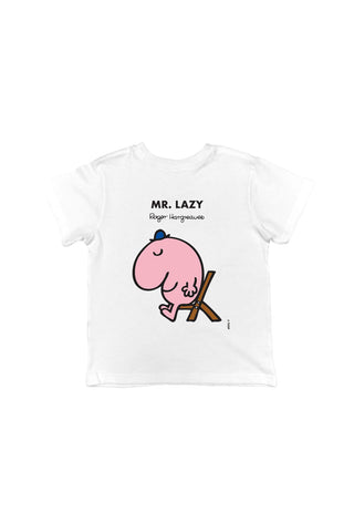 MR. LAZY PERSONALISED CHILDREN'S T-SHIRT